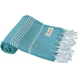 Anatolia Turkish Towel - 37X70 Inches, Aqua