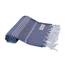 Anatolia Turkish Towel - 37X70 Inches, Dark Blue