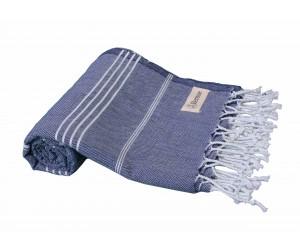 Anatolia Beach Towel Dark Blue