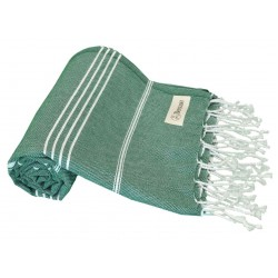 Anatolia Turkish Towel - 37X70 Inches, Forest Green