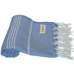 Anatolia Turkish Towel - 37X70 Inches, Grey Blue