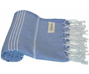 Anatolia Beach Towel Grey Blue