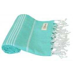 Anatolia Turkish Towel - 37X70 Inches, Mint Green