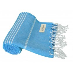 Anatolia Turkish Towel - 37X70 Inches, Ocean Blue
