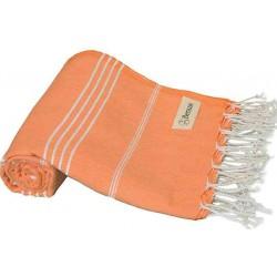 Anatolia Turkish Towel - 37X70 Inches, Orange