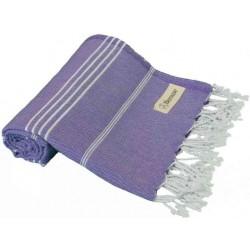 Anatolia Turkish Towel - 37X70 Inches, Dark Purple