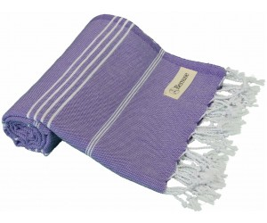 Anatolia Beach Towel Dark Purple