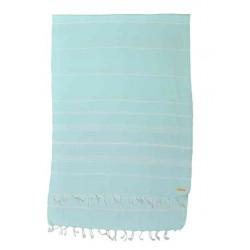 Anatolia XL Throw Blanket  - 61X82 Inches, Aqua Marine