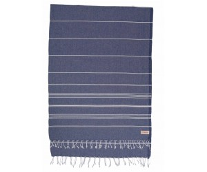 Anatolia XL Beach Blanket Dark Blue
