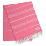 Anatolia XL Throw Blanket Turkish Towel - 61X82 Inches, Pink