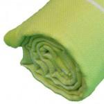 Anatolia XL Throw Blanket Turkish Towel - 61X82 Inches, Pistacho Green