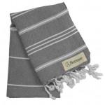 Anatolia Hand Turkish Towel - 22X35 Inches, Anthracite