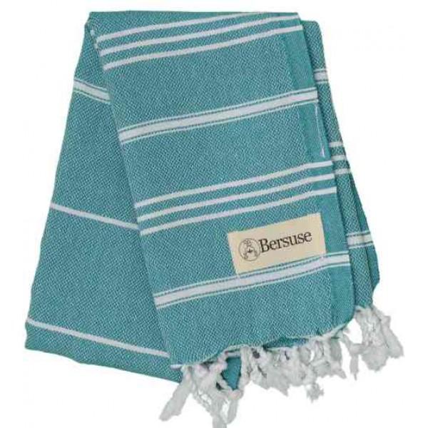 Anatolia Hand Turkish Towel - 22X35 Inches, Aqua