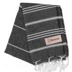 Anatolia Hand Turkish Towel - 22X35 Inches, Black