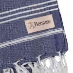 Anatolia Hand Turkish Towel - 22X35 Inches, Dark Blue