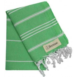 Anatolia Hand Turkish Towel - 22X35 Inches, Green