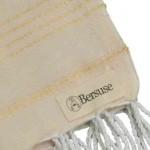 Anatolia Hand Turkish Towel - 22X35 Inches, Natural Gold