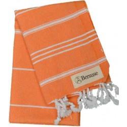Anatolia Hand Turkish Towel - 22X35 Inches, Orange