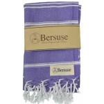 Anatolia Hand Turkish Towel - 22X35 Inches, Dark Purple