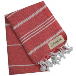 Anatolia Hand Turkish Towel - 22X35 Inches, Red