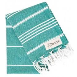 Anatolia Hand Turkish Towel - 22X35 Inches, Teal