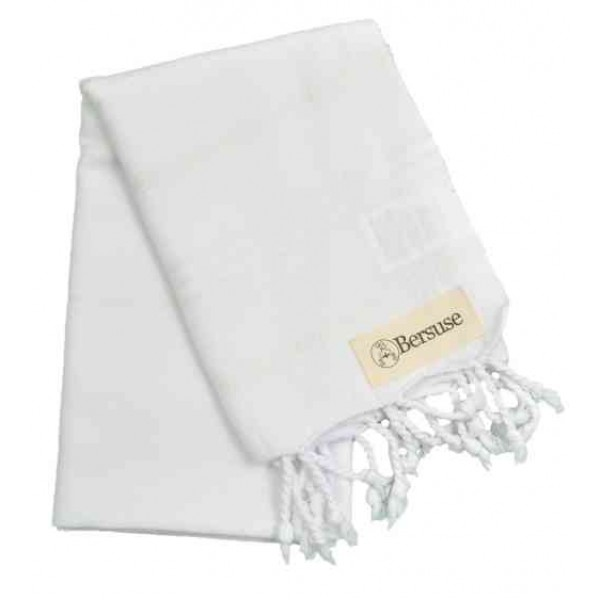 Anatolia Hand Turkish Towel - 22X35 Inches, White