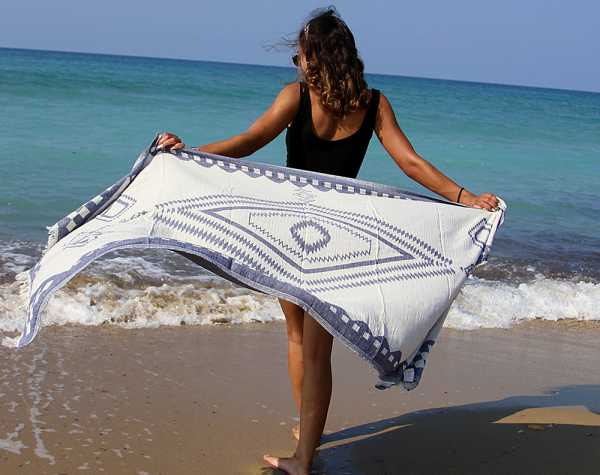 Bahamas Beach Towel