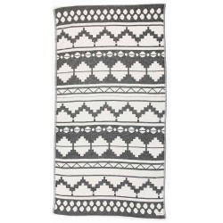 Baja Dual-Layer Turkish Towel -37X70 Inches, Black