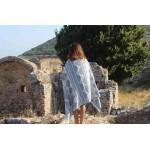 Baja Dual-Layer Turkish Towel -37X70 Inches, Grey Blue