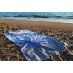 Ephesus Turkish Towel - Anthracite Blue