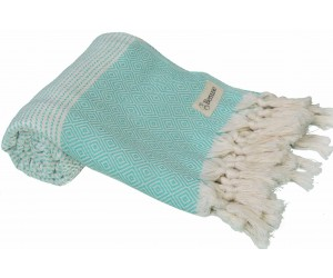Hierapolis Beach Towel Mint Green