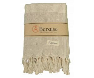 Hierapolis Throw Blanket Beige