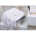 Laodicea Turkish Towel - 39X66 Inches, White