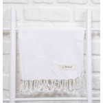 Laodicea Hand Turkish Towel - 21X39 Inches, White