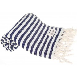 Malibu Turkish Towel - Dark Blue