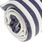 Malibu Turkish Towel - 37X70 Inches, Dark Blue