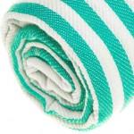 Malibu Turkish Towel - 37X70 Inches, Mint Green