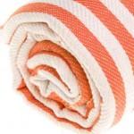 Malibu Turkish Towel - 37X70 Inches, Orange