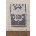 Oaxaca Dual-Layer Turkish Towel -37X70 Inches, Dark Blue