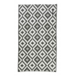 Barbados Turkish Towel with Pocket, Black