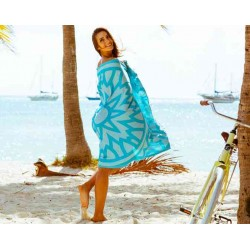 Flamenco Beach Towel