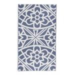 Santorini Organic Turkish Towel - 37X70 Inches, Navy