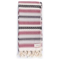 San Jose Turkish Towel - Burgundy