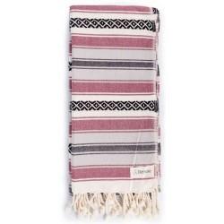 San Jose Turkish Towel - Burgundy