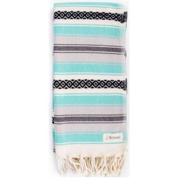 San Jose Turkish Towel - 35X70 inches, Mint Green