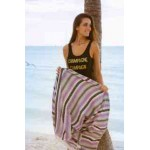 San Jose Turkish Towel - 35X70 inches, Purple