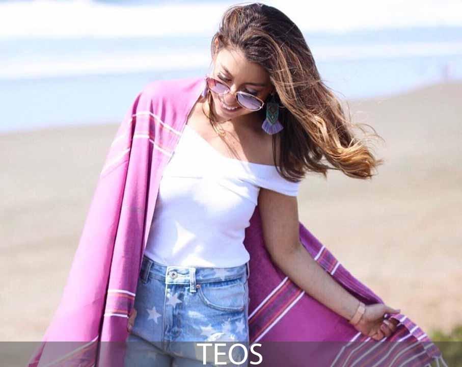 Teos Beach Towel