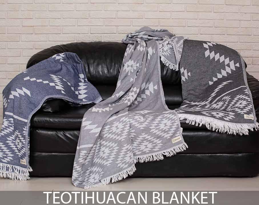 Teotihuacan XL Throw Blanket