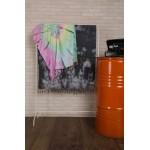 Trinidad Tie Dye Turkish Towel - 38X64 Inches, Colorful