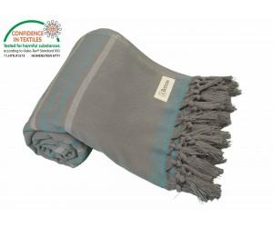 Tripolis Terry Peshtemal Towel Anthracite